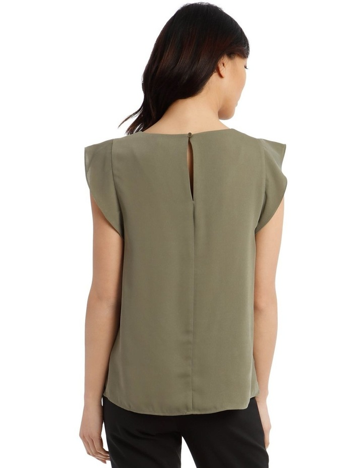 Flutter Sleeve Shell Top image 3