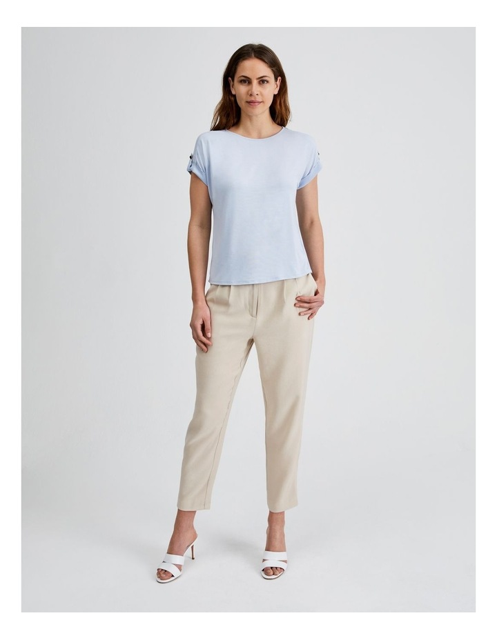 Jersey Button Tee image 1