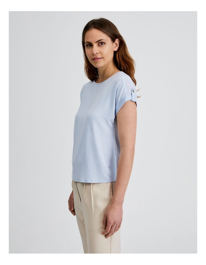 Jersey Button Tee image 2