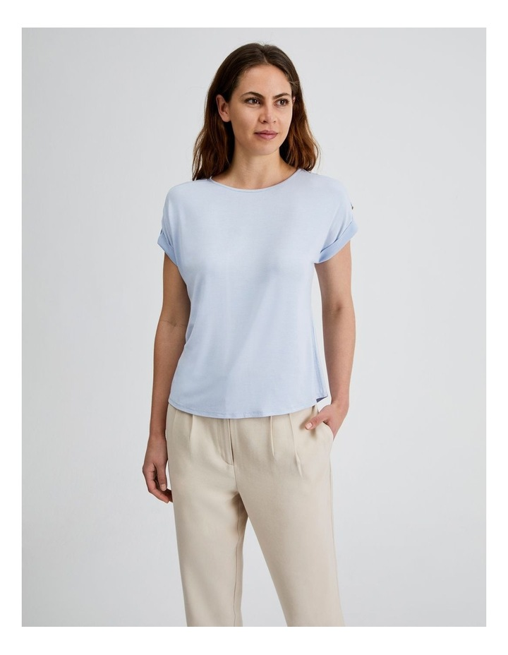 Jersey Button Tee image 4