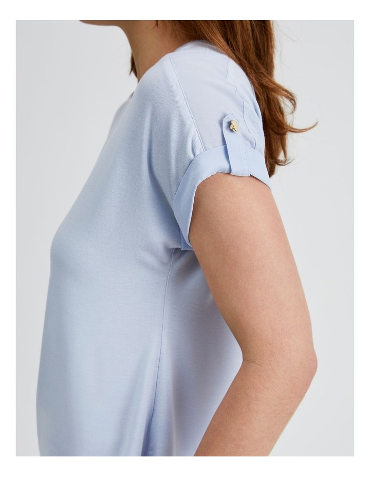 Jersey Button Tee image 5