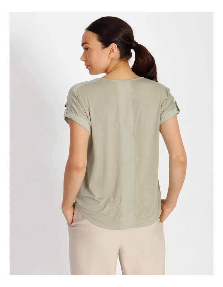 Jersey Button Tee image 3
