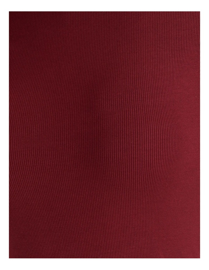 Roll Neck Ribbed Skivvy - Raspberry image 6