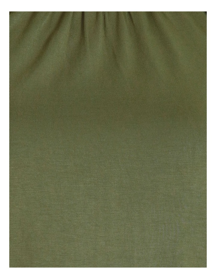 Gathered Neck Jersey Top image 5