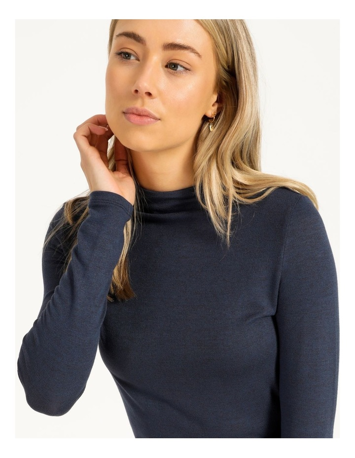 Grown On Neck Jersey Top image 5