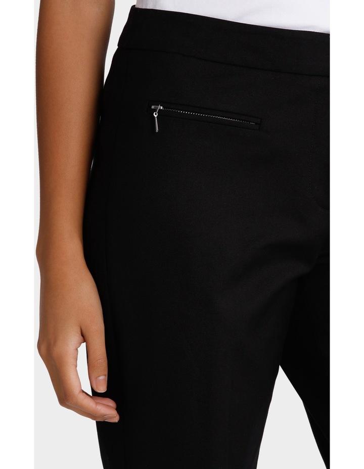 Zip Detail Slim Fit Pant image 4