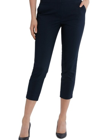 e70bb1637740 Basque Cotton Sateen Cropped Pant