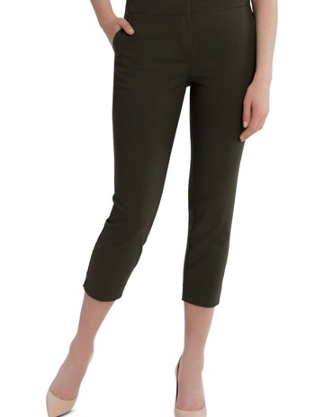 50660f7298 Basque Cotton Sateen Cropped Pant