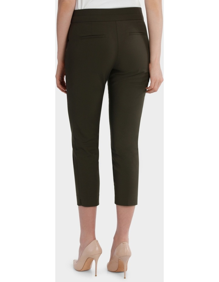 Cotton Sateen Cropped Pant image 3