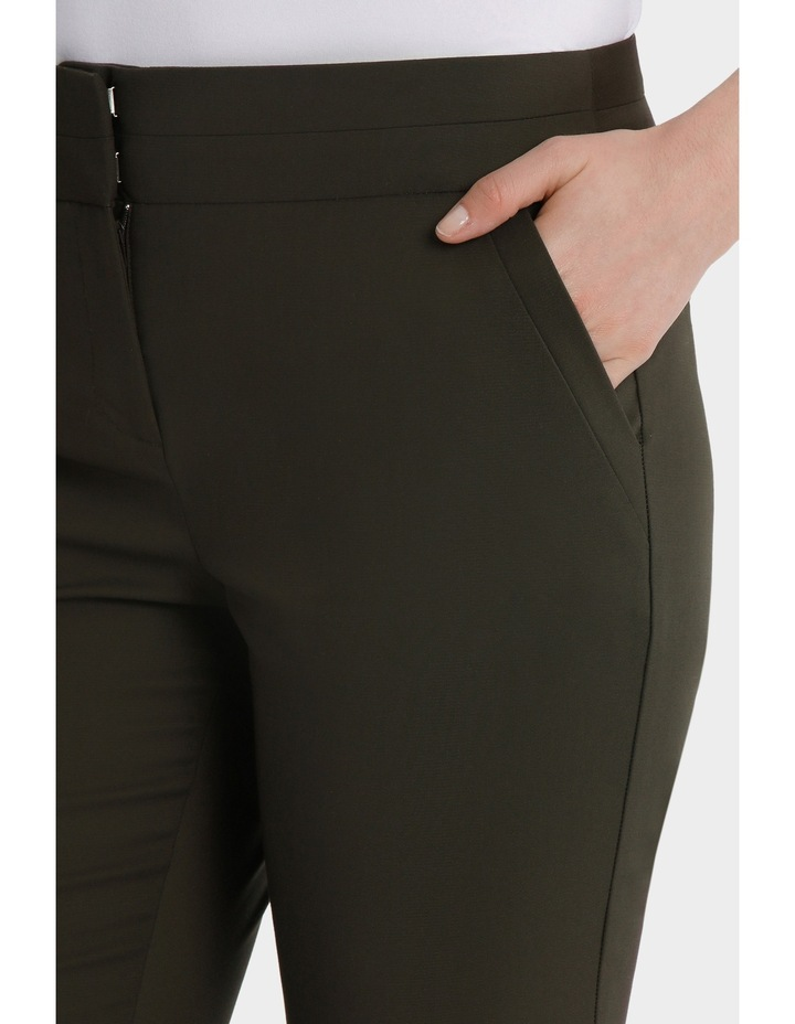 Cotton Sateen Cropped Pant image 4