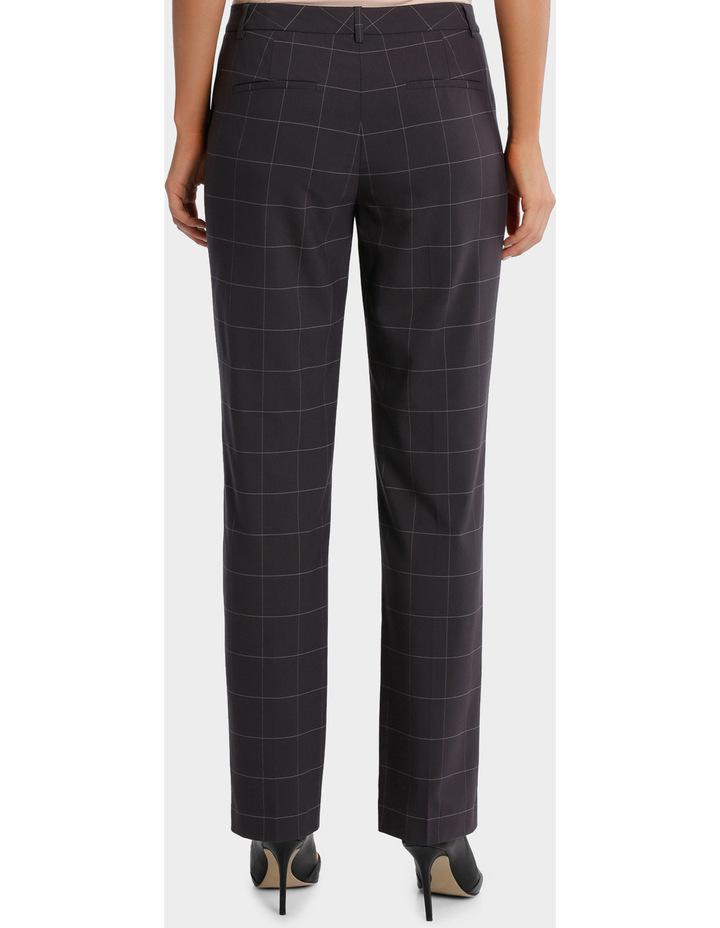 Window Pane Check Suit Straight Leg Pant image 3