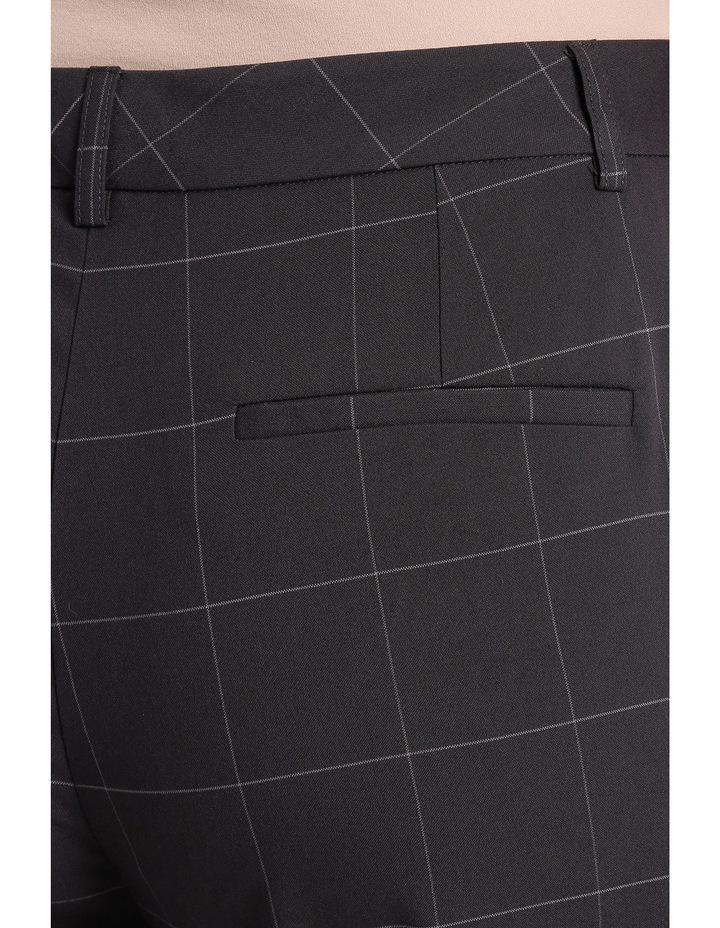 Window Pane Check Suit Straight Leg Pant image 4