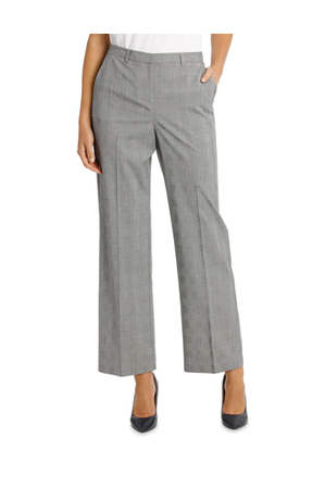 Basque - Prince Of Wales Check Wide Leg Suit Pant