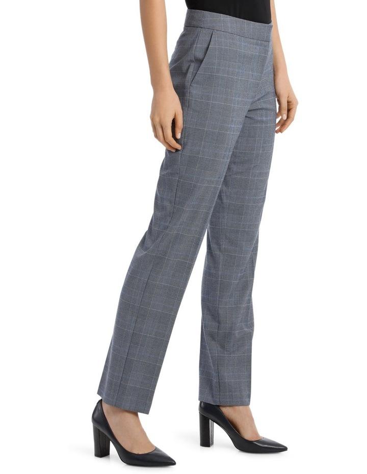 Light Blue Straight Leg Suit Pant image 2