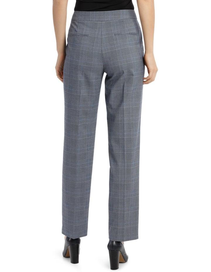Light Blue Straight Leg Suit Pant image 3