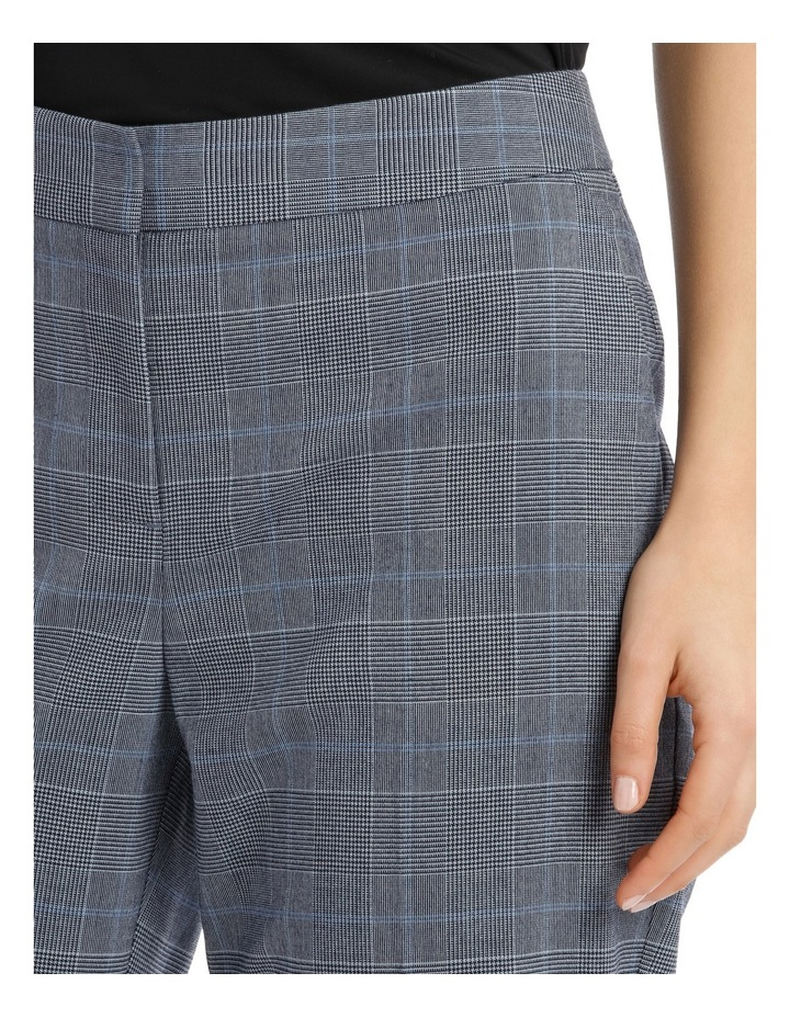 Light Blue Straight Leg Suit Pant image 4