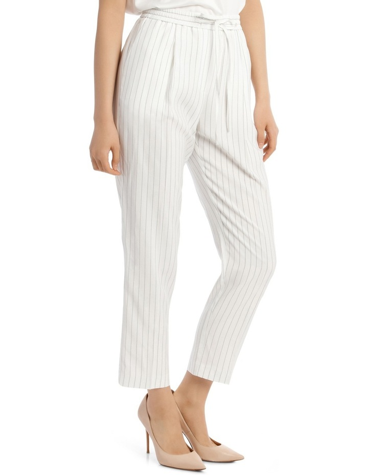 Pinstripe Pull On Pant image 2