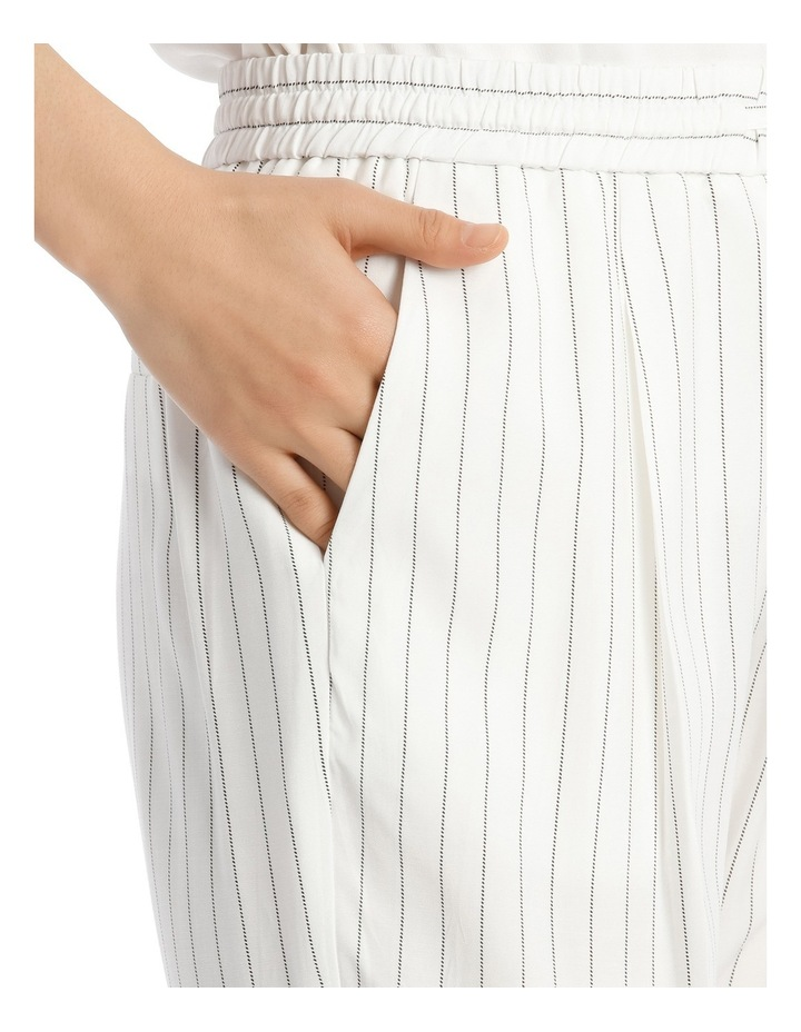Pinstripe Pull On Pant image 4