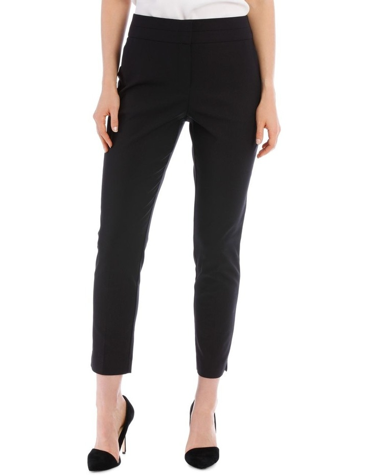 Cotton Sateen Ankle Grazer Pant image 1