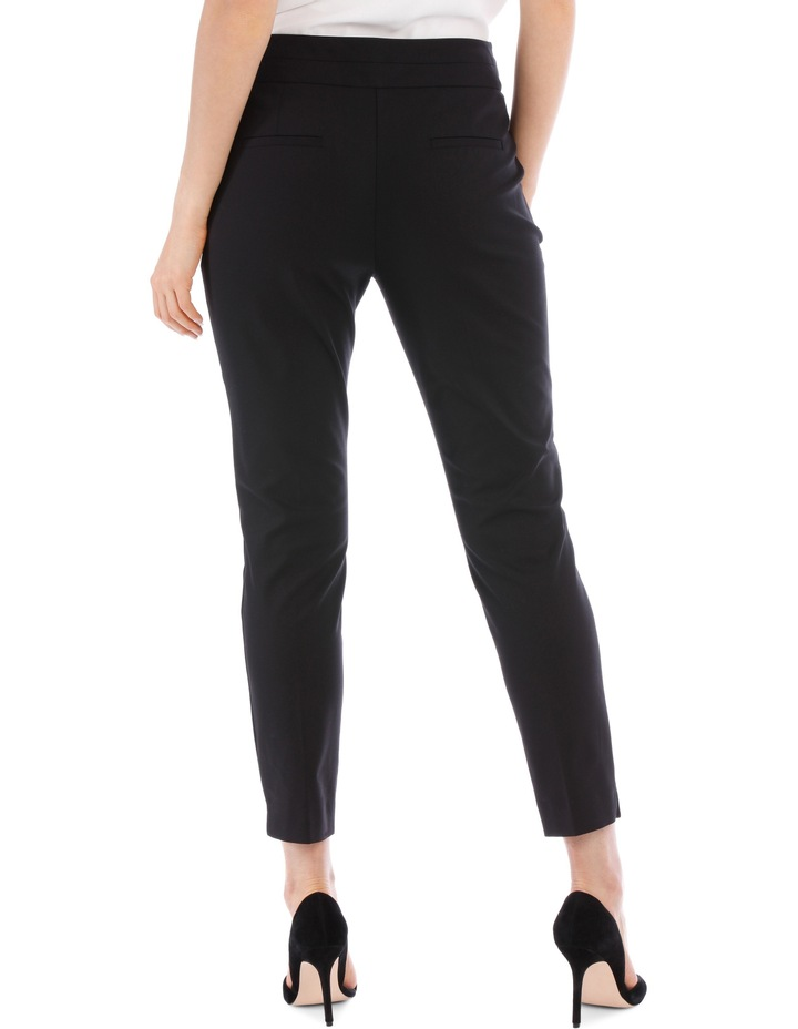 Cotton Sateen Ankle Grazer Pant image 6