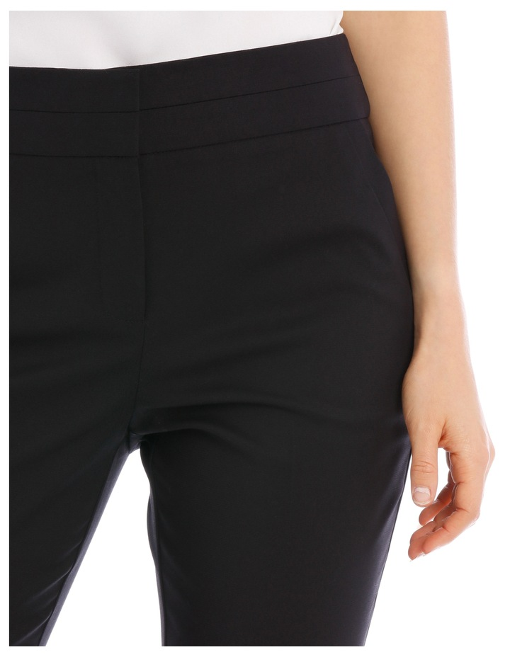 Cotton Sateen Ankle Grazer Pant image 8