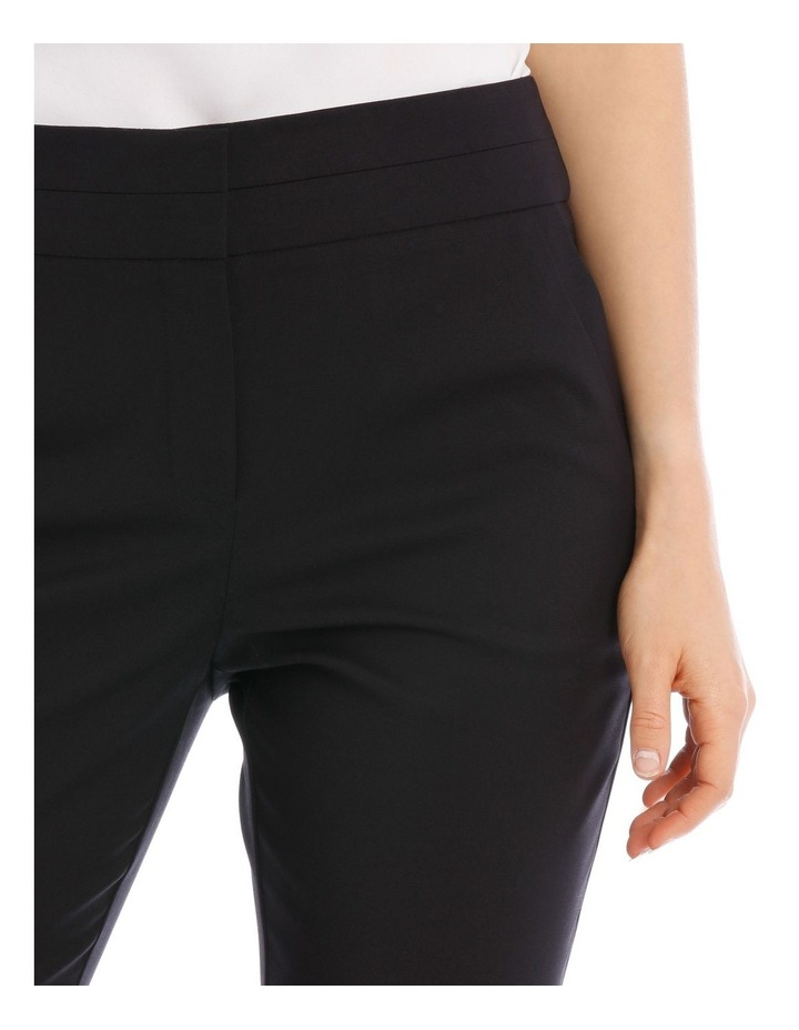 Cotton Sateen Ankle Grazer Pant image 7