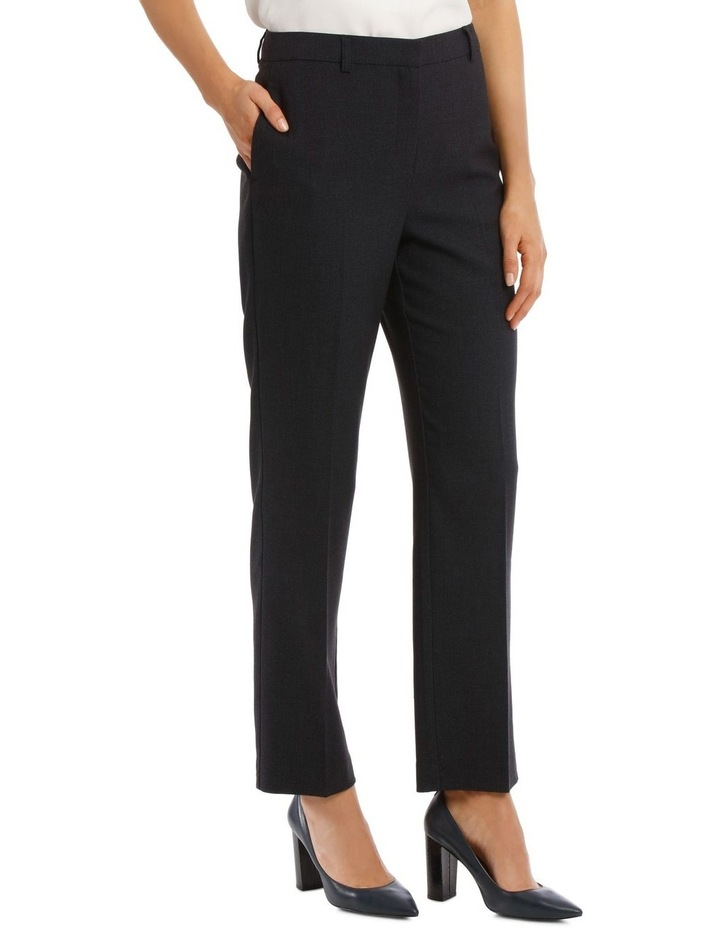 Birdseye Navy Suit Pant image 2