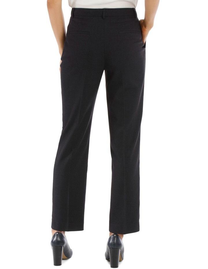 Birdseye Navy Suit Pant image 3