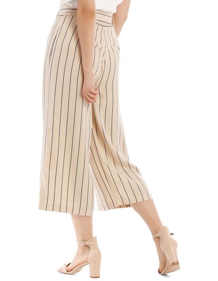 Stripe Linen Blend Culotte image 3