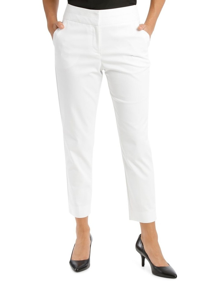 Charlotte Cotton Sateen Cropped Pant image 1