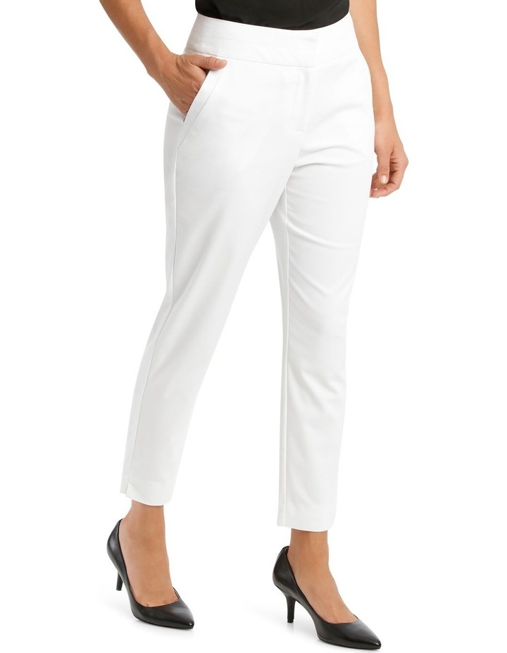 Charlotte Cotton Sateen Cropped Pant image 2