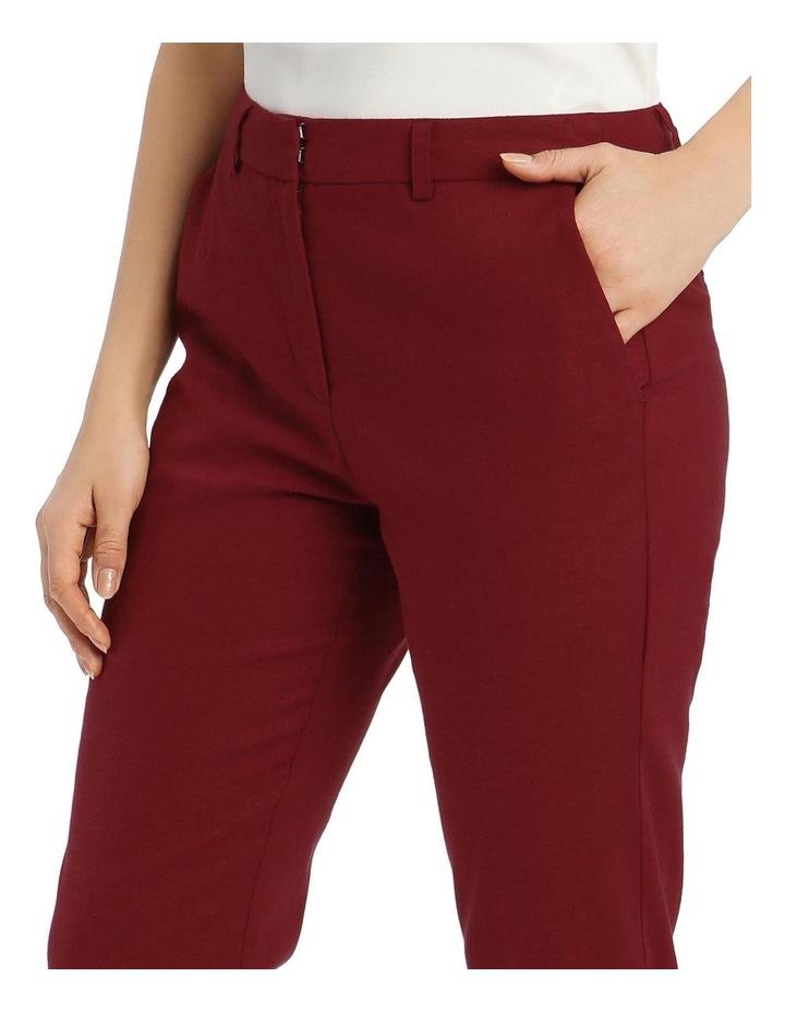 Linen Skinny Leg Pant image 4