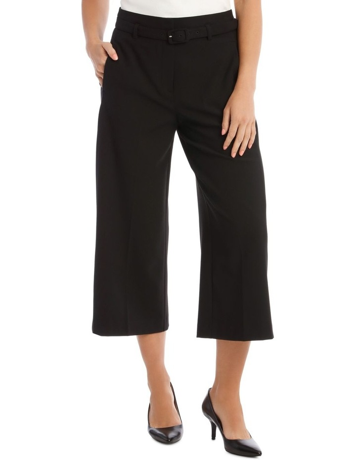 Wide Leg Cropped Pant image 1
