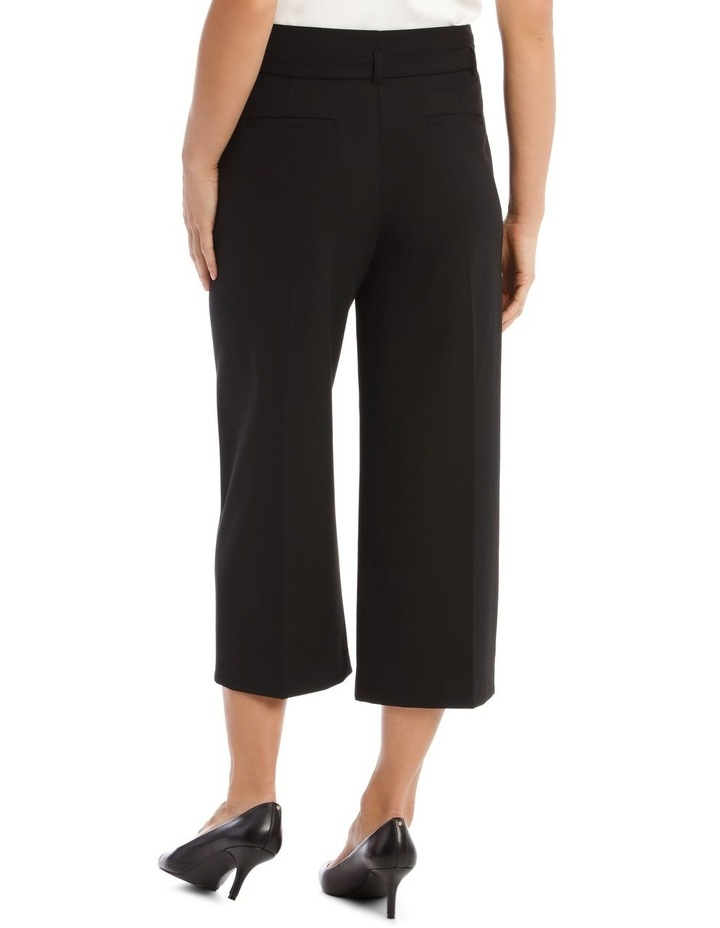 Wide Leg Cropped Pant image 3