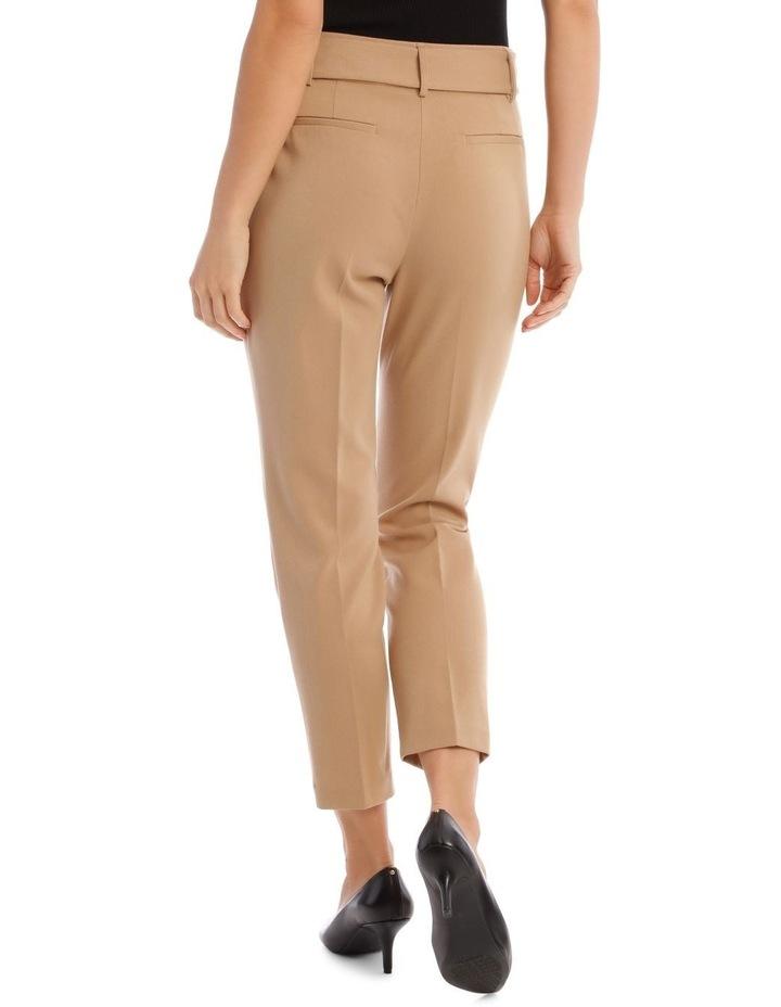 Straight Leg Twill Pant image 3