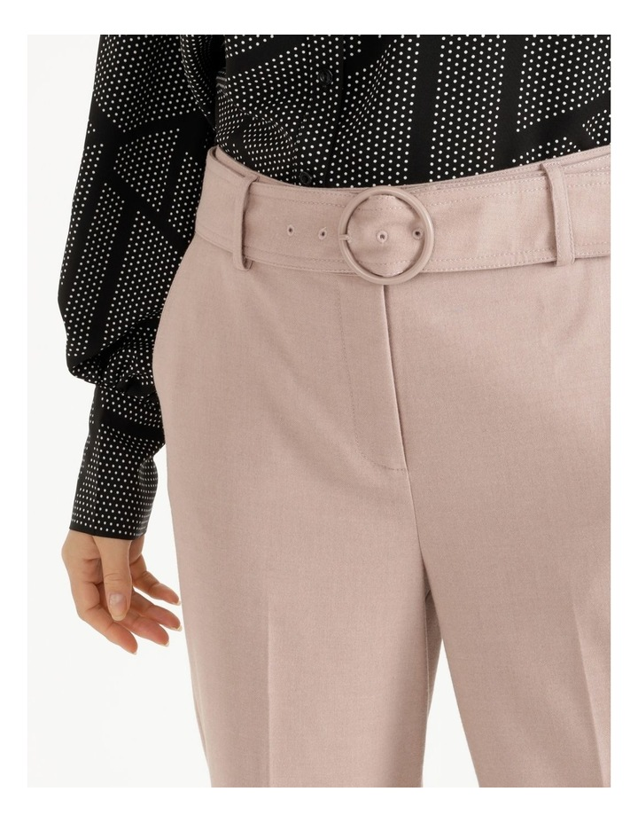Belted Cuffed Pant image 4