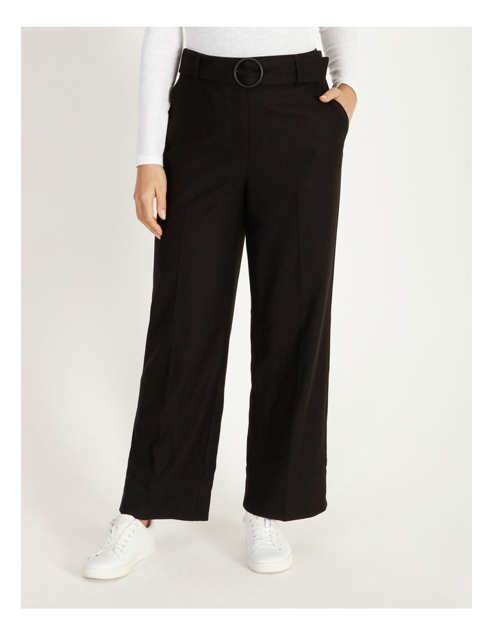Belted Cuffed Pant image 1