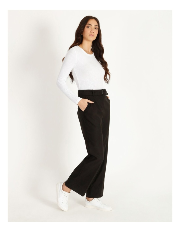 Belted Cuffed Pant image 2