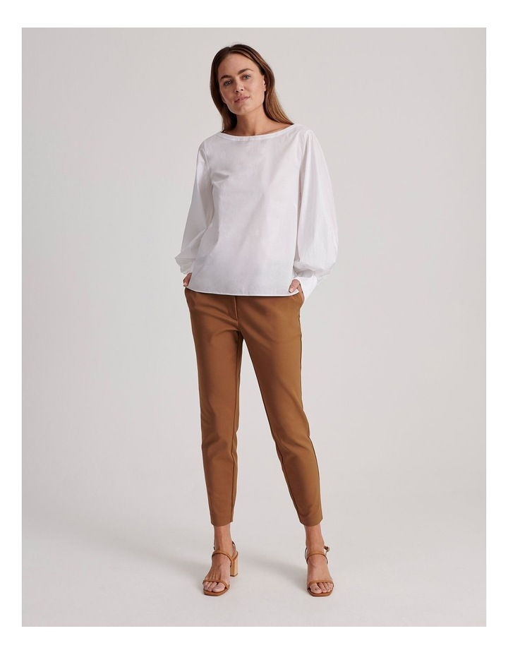 Cotton Sateen Pant image 3