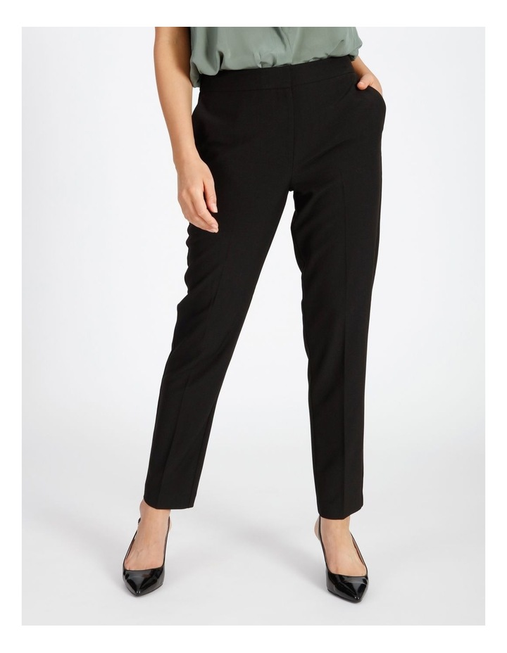 Black Straight Leg Pants image 1