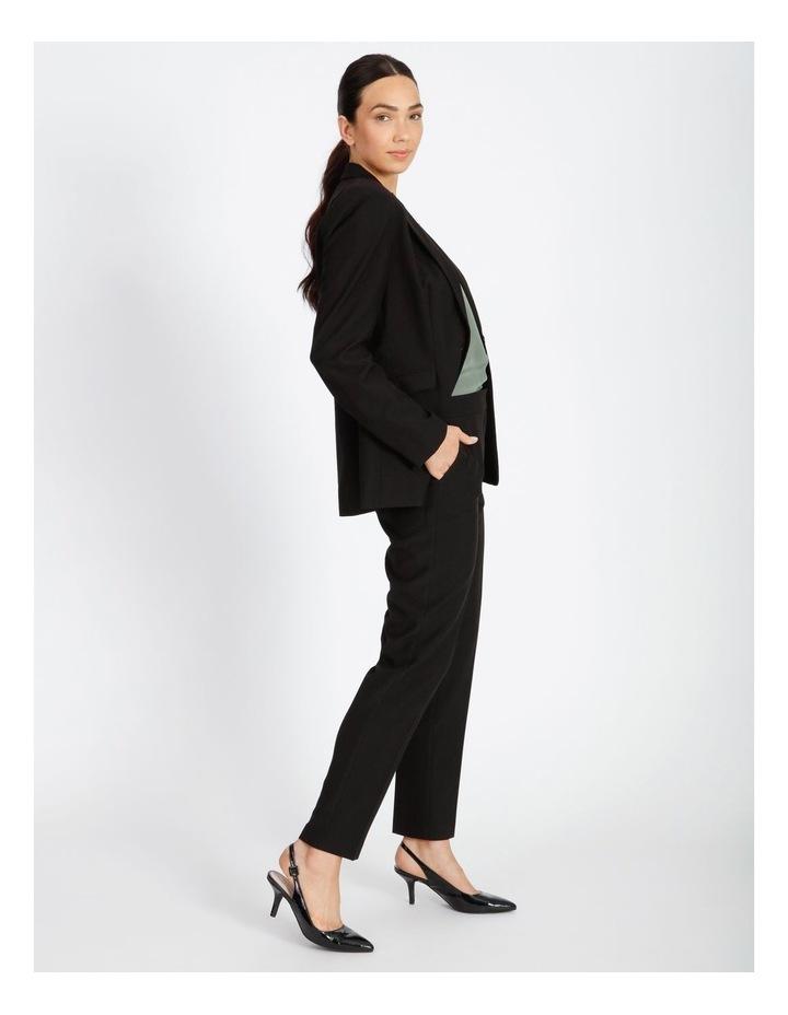 Black Straight Leg Pants image 2