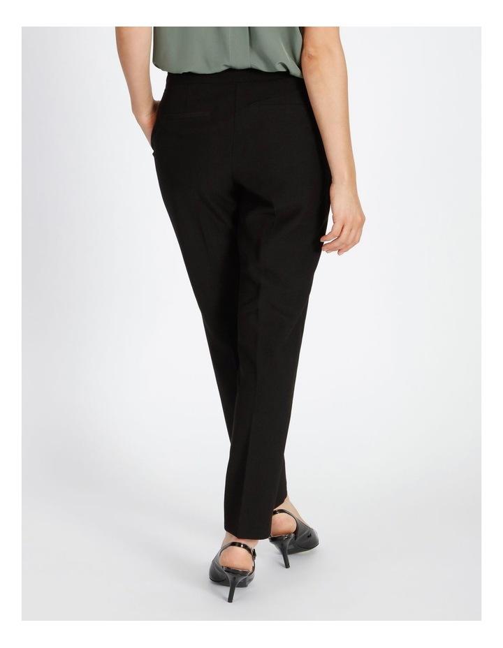 Black Straight Leg Pants image 4