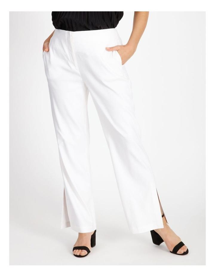 Side Split Linen Pant image 1
