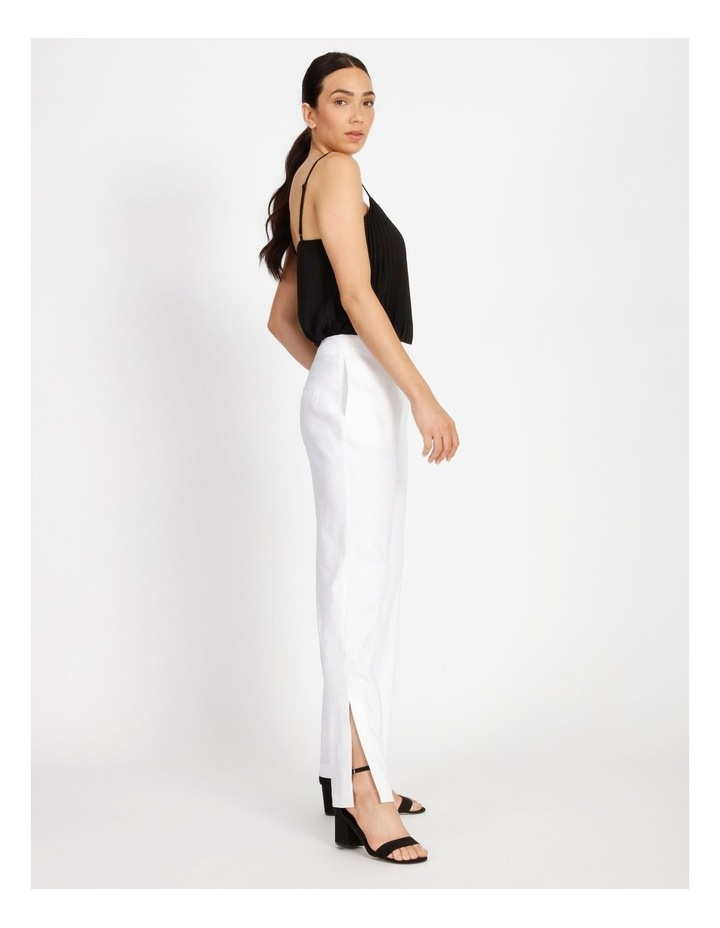Side Split Linen Pant image 2