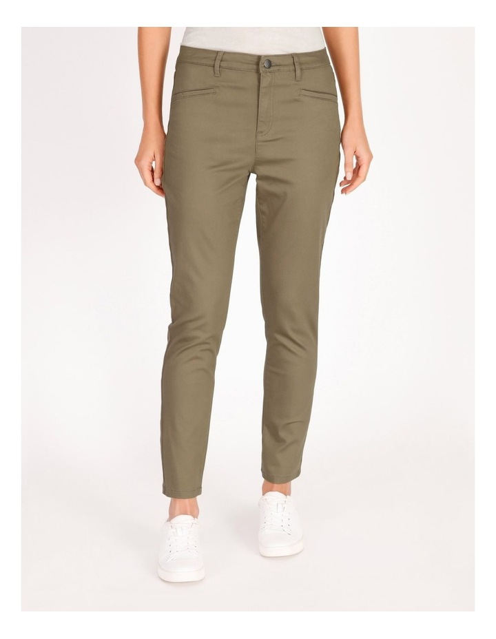 Polished Slim Leg Jean image 1