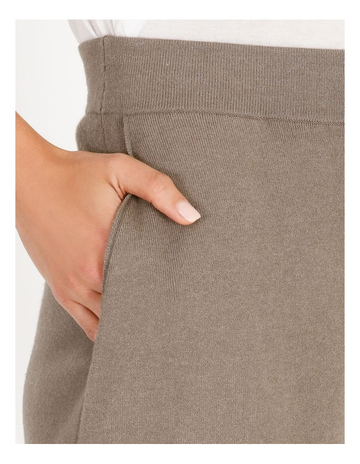 Wide-Leg Knit Pant image 4