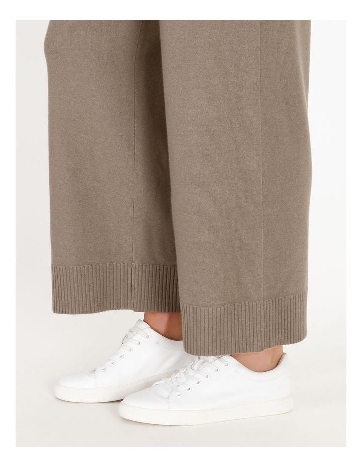 Wide-Leg Knit Pant image 5