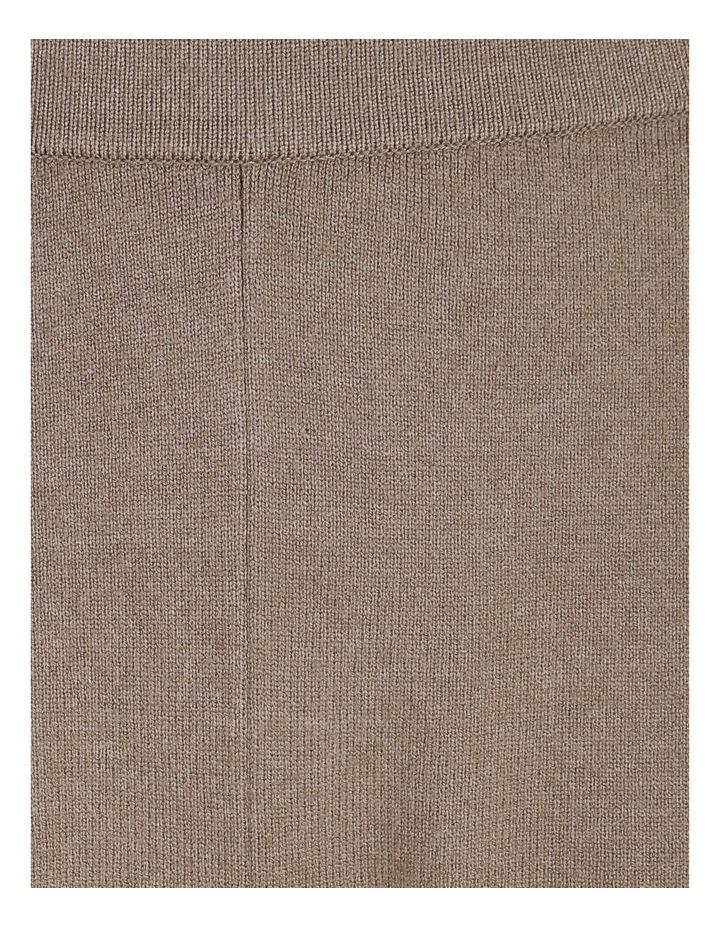 Wide-Leg Knit Pant image 6