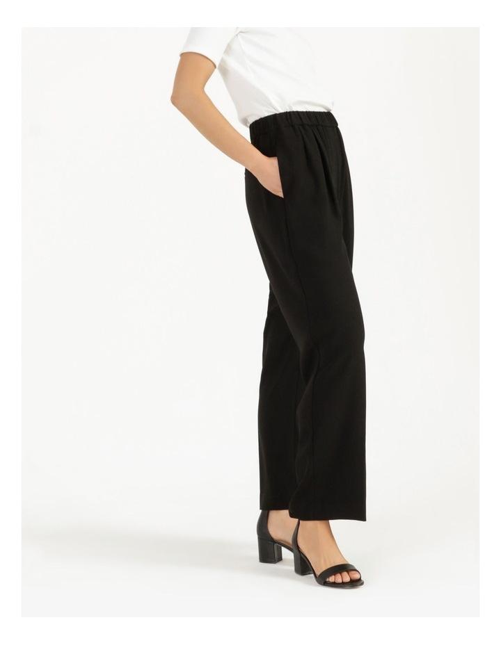 Pull On Wide Leg Crepe Pant image 3
