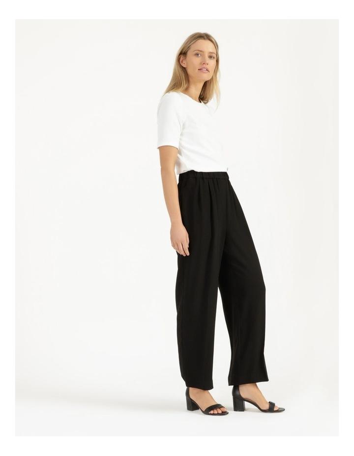 Pull On Wide Leg Crepe Pant image 4